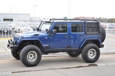 Big Blue + Dana 60 = Bigger Blue - JKowners.com : Jeep Wrangler JK Forum