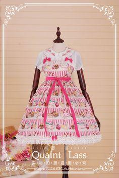 QuaintLass Qing Ling Tailor 2015 Frances children daily system * * JSK dress [stock] - Taobao global Station