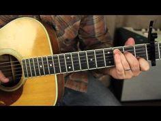 Fleetwood Mac - Landslide - Lesson acoustic fingerpicking guitar lesson tutorial - YouTube