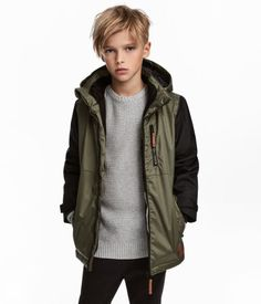 Padded jacket in windproof, water-repellent, breathable functional fabric with a detach New Haircuts For Boys, Kids Hairstyles Boys, Boy Haircuts Long, Teenager Haircuts Boys, Hairstyles 2018, Undercut Hairstyles, Kids Cuts, Boy Cuts, Padded Jacket