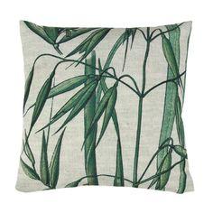 Ce beau coussin de HK-vie apporte repos et de détente! L'oreiller en bambou est imprimé et en coton. L'oreiller est idéal pour la maison, mais certainement a