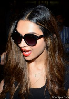 Deepika stuns in hot leather tights and knee-high boots on India return