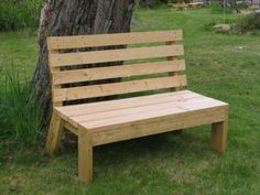 Bench for next to the riding arena. Maybe out of our old barn boards? Octagon Picnic Table, Picnic Table Plans, Wooden Lawn Chairs, Wooden Benches, Outdoor Garden Furniture, Outdoor Decor, Outdoor Stage, Outdoor Benches, Pallet Furniture