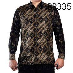 Kemeja Batik Sogan dengan Kode BP335, merupakan batik PRINTING yang terbuat dari bahan KATUN.