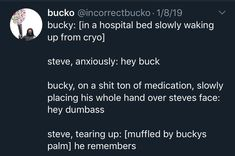 stucky via incorrectbucko on… Marvel Quotes, Funny Marvel Memes, Dc Memes, Avengers Memes, Marvel Heroes, Marvel Movies, Marvel Avengers, Marvel Cinematic Universe, Ships