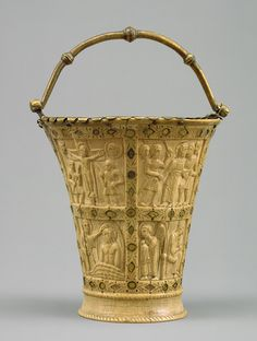 Carolingian Situla or Bucket for Holy Water from the Church of Saints Peter and Paul, Crannenburg, Germany, c. 860 - 880