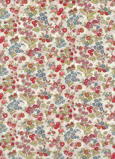 Fabric by Liberty of London tana lawn Nancy Ann 6x27