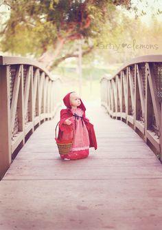 Little Red Riding Hood has never been cuter