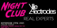 VILE ELECTRODES + NIGHT CLUB To Play Joint London Gig in November