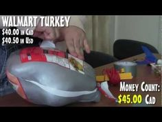 WE MAKE A ROCKET POWER TURKEY ON WHEELS [epic meal time]