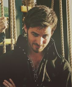 Captain Hook...every time he comes out in a scene I just *drool*  he needs to be in more episodes!