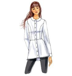 Purchase Butterick 6097 Misses' Shirt and read its pattern reviews. Find other Tops, sewing patterns.