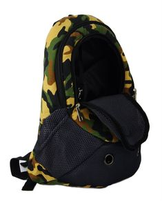 Pet Carrier Backpacks Adjustable Dogs Cats Travel Carriers for Walking  Hiking Bike and Motorcycle Camouflage   d5be2b2f74