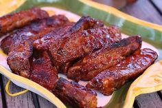 Ribs sauce barbecue