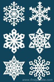Step 10b Paper Snowflake craft