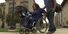 O estudante que inventou um carrinho de bebê para as mães com deficiência