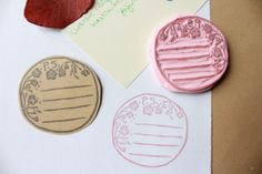 January snailmail: Stationery stamps 2 by creating_impossible_gardens, via Flickr