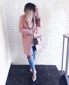 pink//fall outfits
