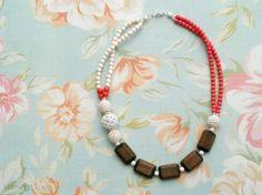 DIY beaded necklace