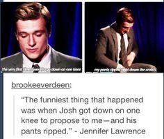 Jen and Josh are perfect