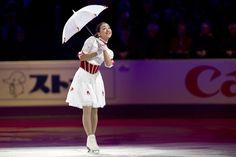 Mao Asada from Japan performs during the closing gala at the World Figure Skating Championships Sunday, March 17, 2013 in London, Ontario.