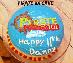 Pirate 101 Cake | Mom in Music City
