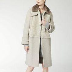 Bolero Shearling Coat