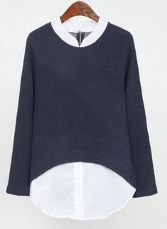 Bingyuanhaoxuan Black White Stripes Turtleneck Women Cloak Coat Sweater Shawl Knit Batwingtop Poncho Cape Tassel Sweater Outwear Women's Clothing
