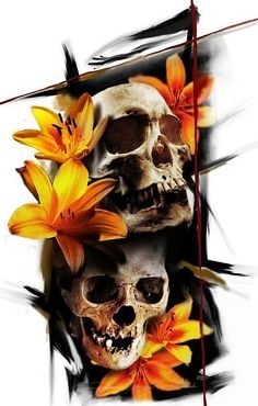 Skullnique/Skull products for skull lovers Skull Tattoo Design, Skull Design, Skull Tattoos, Body Art Tattoos, Sleeve Tattoos, Tattoo Designs, Tattoo Studio, Tattoo Blog, Badass Tattoos