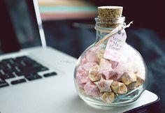 Wish My Heart lucky star jar