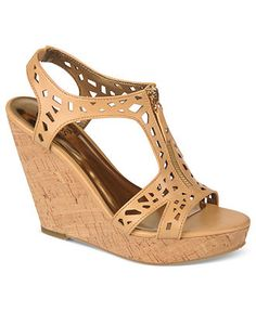 Carlos by Carlos Santana Shoes, Geneva Platform Wedge Sandals - Espadrilles & Wedges - Shoes - Macy's