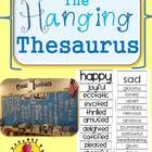 """Tired of your students using boring words in their writing? Sick of """"It was cool."""" """"She is nice. I created this """"Hanging Thesaurus"""" so t. easy synonym Printable Hanging Thesaurus for your Classroom- Synonyms for Creative Writers Computer Lab Posters, Word Up, Writing Resources, Tired, Literacy, Sick, Give It To Me, Language, Classroom"""