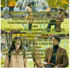 """Goblin (kdrama). One of the most beautiful poems I have ever heard. """"Physics of Love"""""""