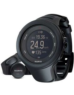 Suunto Ambit 3 Sport Black Training Watch with Heart Rate
