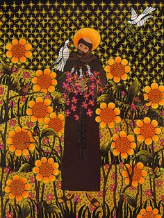 St Francis of Assisi by Elayne LaPorta