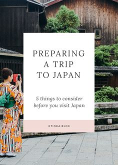 Find out how to prepare for a trip to Japan. With helpful tips on Japanese etiquette to packing tips and the Japan Rail Pass.