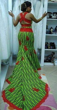 Stylish, Exquisite and Trendy Ankara Styles - Wedding Digest NaijaWedding Digest Naija African Dresses For Women, African Print Dresses, African Print Fashion, Africa Fashion, African Attire, African Fashion Dresses, African Wear, African Prints, Ghanaian Fashion