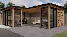 Garden Design Layout - New ideas Backyard Storage Sheds, Backyard Sheds, Backyard Pergola, Patio Roof, Backyard Buildings, Backyard House, Shed Design, Garden Design, Outdoor Garden Rooms