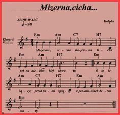 Mizerna,cicha-stajenka licha. Ukulele, Violin, Kalimba, Workout Music, Sheet Music, Casio, Google Search, Christmas, Piano Songs