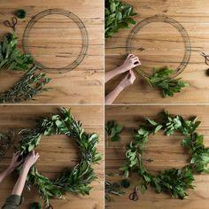 Greenery Wreath DIY   Magnolia