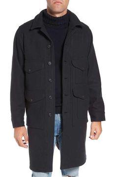Filson Long Cruiser Wool Coat