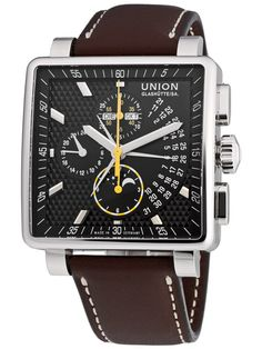 Union Glashütte Averin Chronograph D003.525.16.051.00 Chronograph, Germany, Jewellery, Watches, How To Make, Accessories, Clock, Corning Glass, Jewels
