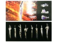 Final Fantasy Weapon Set/ Full Set Of Final Fantasy Sword Weapon