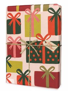 Presents Wrapping Paper by Rifle Paper Co.