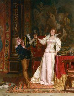 Итальянский художник Frederic Soulacroix (1858 - 1933): philologist