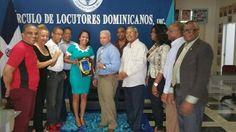 Reconocen presidenta del Círculo de Locutores Dominicanos