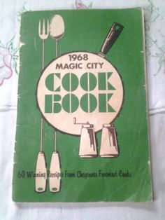 Vintage 1968 Magic City cook books 60 winning recipes from Cheyennes Wyoming  Foremost  cook  1968 cookbook
