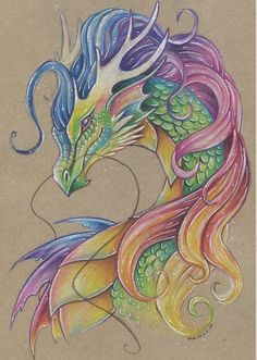 photo wall mural for sale Cool Art Drawings, Colorful Drawings, Art Sketches, Fantasy Dragon, Fantasy Art, Dragon Sketch, Mythical Creatures Art, Dragon Artwork, Dragon Pictures