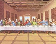 Famous LAST SUPPER painting