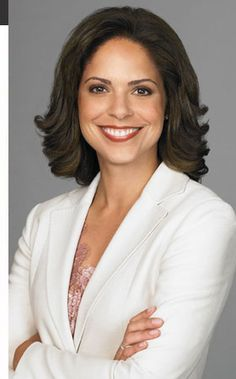 Soledad O'Brien, anchor for CNN's morning show Starting Point and also a specials correspondent.